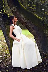 Šaty - Šaty z ľanového plátna - 9770142_