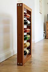 Nábytok - Vinotéka (Wall wine rack) - 9768081_