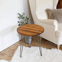 Nábytok - Sudový príručný stolík