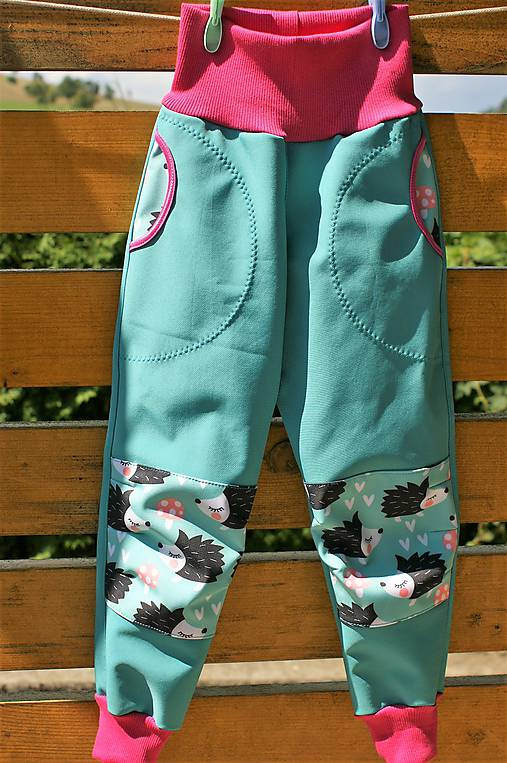7ad0377b3ca0 Softshellové nohavice   Miacmia - SAShE.sk - Handmade Detské oblečenie