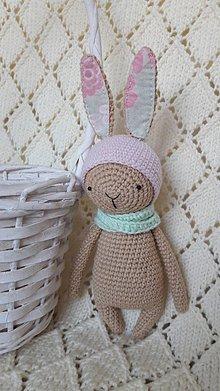 Hračky - Zajačik pastelový - 9770004_