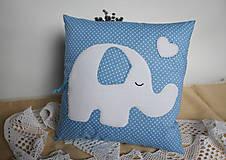 Textil - #Vankúšik (Modrá) - 9768172_