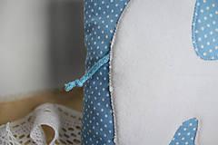 Textil - #Vankúšik (Modrá) - 9768173_