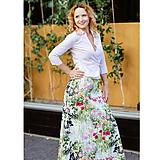 dlhá elegantná sukňa