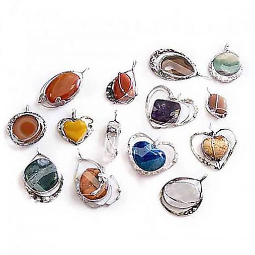 17.august 15:30-18:45 Kurz výroby šperkov umeleckou technikou Tiffany
