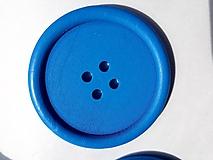 Drevený gombík 5 cm
