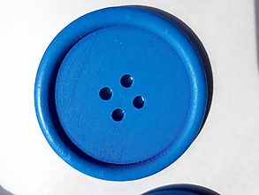 Galantéria - Drevený gombík 5 cm - 9769488_