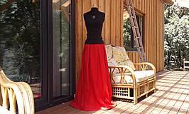 Sukne - Maxisukně na míru i jiné barvy - 9770563_