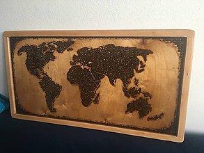 Dekorácie - Obraz - CoffeeMap - 9770274_