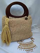 háčkovaná kabelka CAMEL
