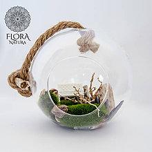 Dekorácie - Guľatá váza - 9768125_