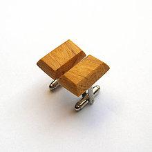 Šperky - Špaltované bukové obdĺžničky - 9768975_