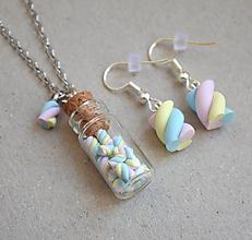 Sady šperkov - MiniMarshmallows - 9773472_