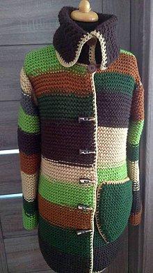 Svetre/Pulóvre - hrubý pletený sveter - 9772052_