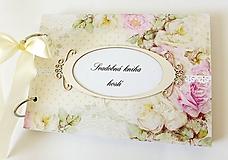 Papiernictvo - svadobná kniha hostí - 9772076_