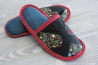 Obuv - Kvetinkové srdiečka - 9773282_
