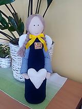 Dekorácie - poštársky anjel - 9773188_