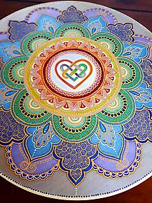Dekorácie - Mandala Harmonizácie - 9772820_