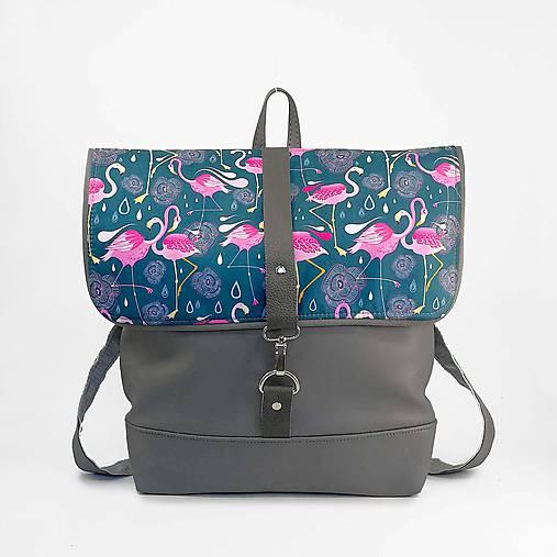 Batoh (Grey flamingo)