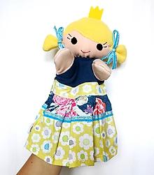 Hračky - Maňuška princezná - Stela - 9773538_