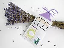 Dekorácie - Levanduľový voňavý domček (Fialová 2.) - 9772271_