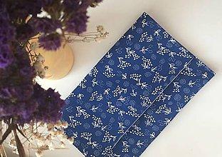 Kabelky - listová kabelka Modrá - 9772184_