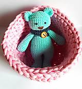 Dobrý obchod -  Košík veľkosť M baby pink - 9773199_