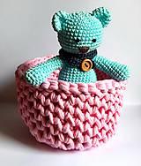 Dobrý obchod -  Košík veľkosť M baby pink - 9773201_