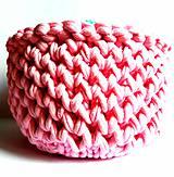 Dobrý obchod -  Košík veľkosť M baby pink - 9773202_