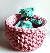 Dobrý obchod -  Košík veľkosť M baby pink - 9773209_