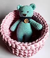Dobrý obchod -  Košík veľkosť M baby pink - 9773210_