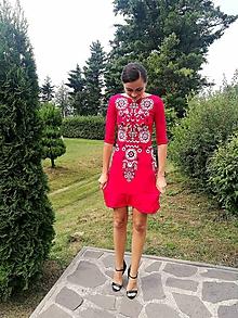 Šaty - Úpletové šaty Slavianka - 9772148_