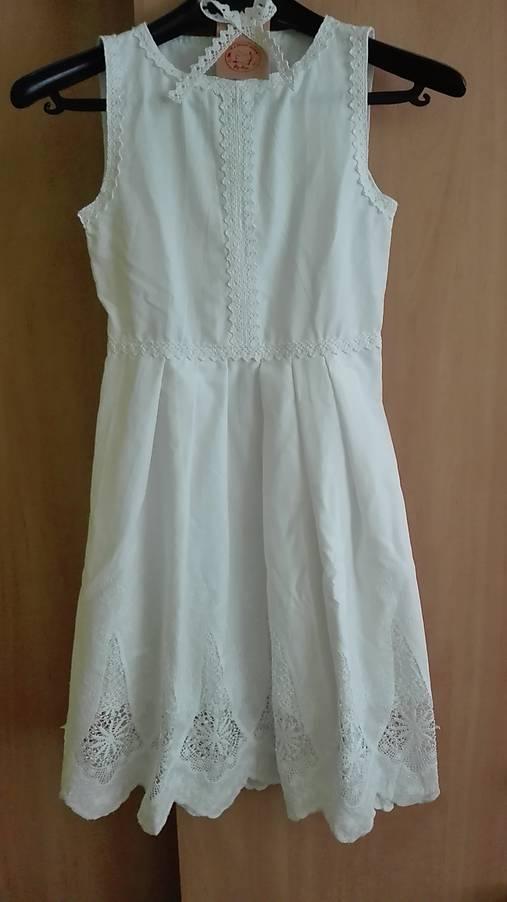 Madeira dievčenské šaty   Riavranka - SAShE.sk - Handmade Detské ... aa8a8e03271