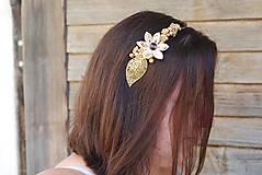 Ozdoby do vlasov - LUXUSNÍ ČELENKA - 9773650_