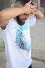 Tričká - Pánske tričko TYRQUOISE EYE - 9772709_