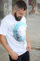 Tričká - Pánske tričko TYRQUOISE EYE - 9772710_
