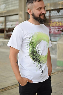 Tričká - Pánske tričko GREEN EYE - 9773085_