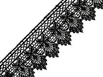 Galantéria - Vzdušná krajka 55 mm - 9771569_