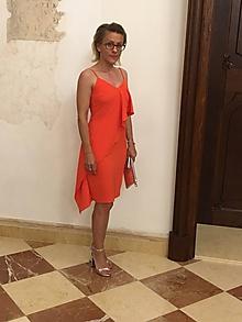 Šaty - Letné šaty s volánom-Zľava 20%! - 9772834_