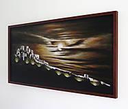 Obrazy - Obraz Mesačný svit nad Spišským hradom - 9772893_