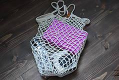 """Nákupné tašky - Nákupná sieťka """"F_05"""" (Biela) - 9776085_"""
