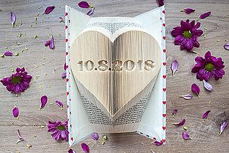 Dekorácie - dátum v srdci - 9773958_