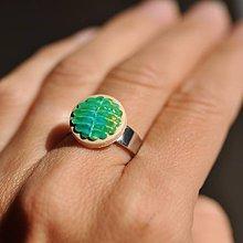 Prstene - Prsteň Papradie - 9774733_