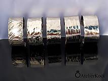 Náramky - Náramek kovaný z nerezu - 9775738_