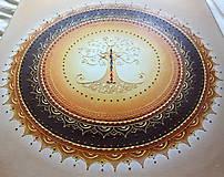 Obrazy - STROM ŽIVOTA (oranž) 50 x 50 - 9774175_