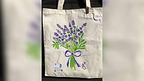 Iné tašky - ♥ Plátená, ručne maľovaná taška ♥ - 9775492_