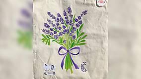 Iné tašky - ♥ Plátená, ručne maľovaná taška ♥ - 9775495_