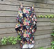 Šaty - Maxi šaty - kvetované - 9774762_