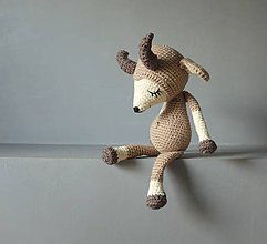 Hračky - kozička- spinkáčik - 9774054_