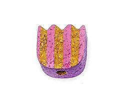 Korálky - Tulipán pásikavý - 9773868_